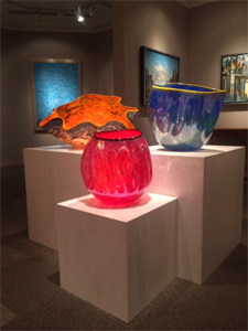 Anthias Anthias Art Glass Bowls