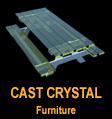 Cast Crystal Furniture