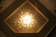 Flush Mounted Chandelier