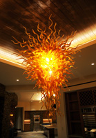 Amber Chandelier in Las Vegas