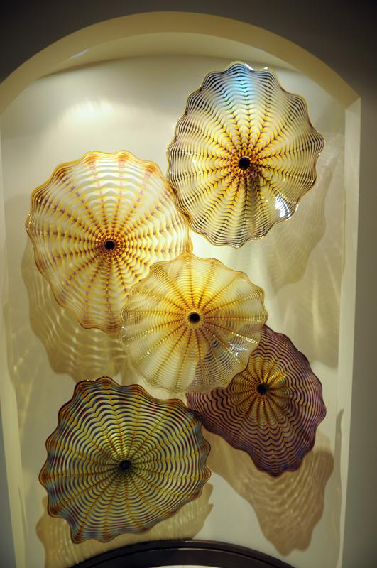 Persian Wall Seaforms   Wall Glass Art Seaforms