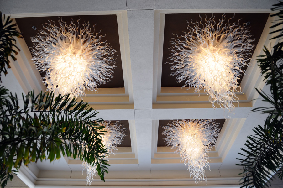Four Seasons Hotel Chandeliers Beverly Hills Los Angeles