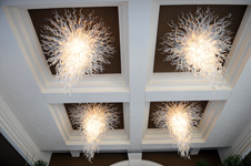 Four Seasons Hotel Beverly Hills Los Angeles California Chandeliers